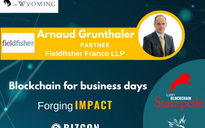 We are happy to welcome Arnaud GRUNTHALER to our 2nd Lyon Blockchain Stampede