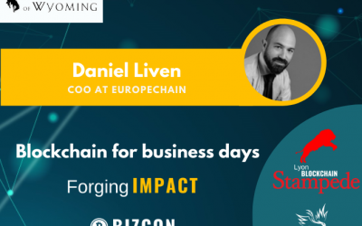 We are happy to welcome Daniel LIVEN to our 2nd Lyon Blockchain Stampede