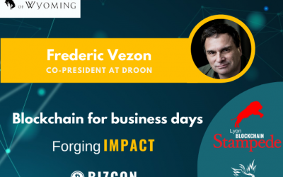 We are happy to welcome Frederic VEZON to our 2nd Lyon Blockchain Stampede